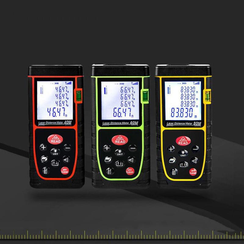 Handheld laser rangefinder high precision level laser rangefinder electronic ruler infrared measuring instrument tool