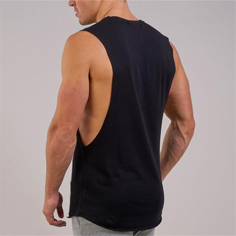 New Summer Gyms Fitness Bodybuilding Tank Tops Stringer fashion mens workout clothing Loose open side sleeveless shirts Vest Islamabad
