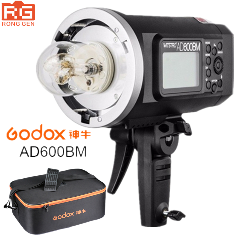 Godox ad600bm 600ws gn87 HSS 1/8000 s Открытый Вспышка фотографии огни фонарями 2.4 г Беспроводной x Системы с 8700 мАч литий-ионный Батарея