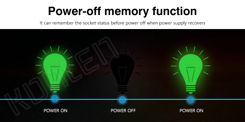 KONLEN GSM Power Socket Temperature control support 05