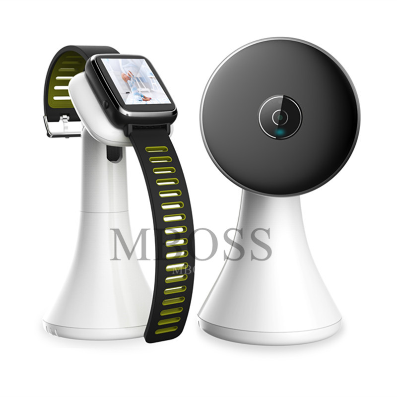 Newest Design Wireless Video Baby Monitor Watch Style Portable shock vibration Baby Nanny Cry Alarm Camera