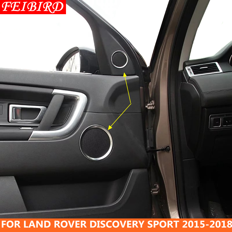 Air Conditioning AC Panel Kit Trim Accessories For Discovery Sport 2015-2019 ABS