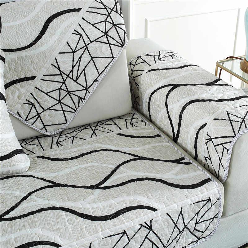 Parkshin современный диван крышка Nordic евро Гостиная серый евро Роскошный плед диване крышка диван заседании случае угловой диван Чехлы