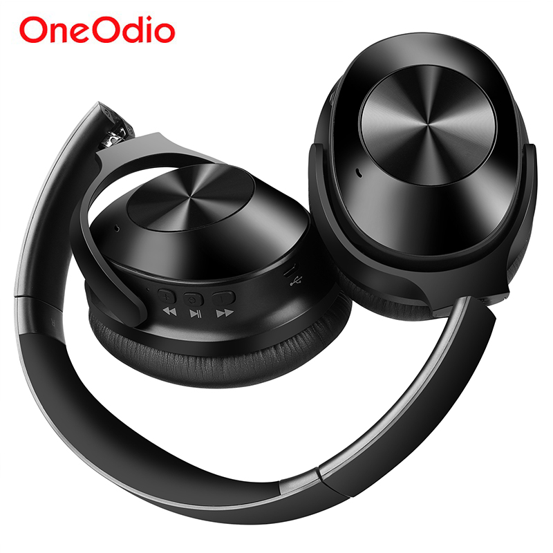 Oneodio A9 Bluetooth 4 1 Active Noise Cancelling Headphones With Mic 30h Playtime Wireless Wired Headset