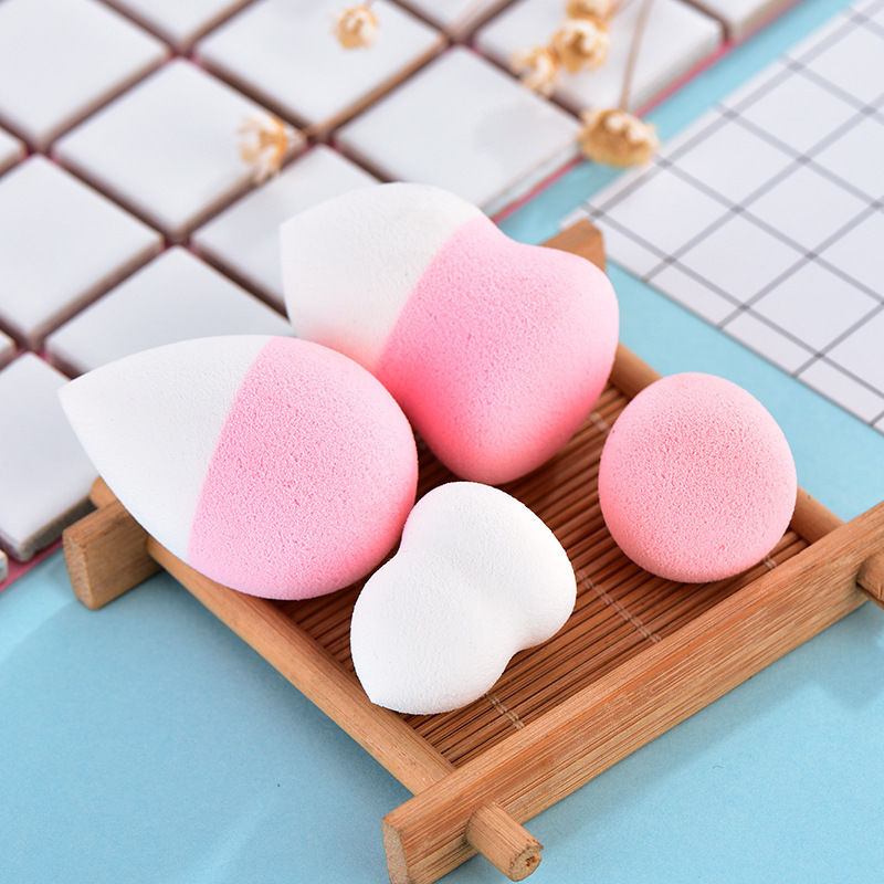 Beauty & Health Obliging 4pcs Makeup Sponge Set Water Droplet Gourd Shape Powder Liquid Foundation Bb Cream Cosmetic Puff Cute Portable Cosmetic Sponge Can Be Repeatedly Remolded. Beauty Essentials