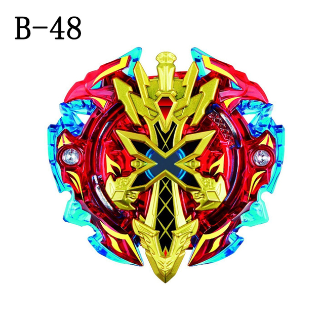 New Spinning Top Beyblade  B48 B66 3056 Series With Launcher And Original Box Metal Plastic Fusion 4D Gift Toys For Kids