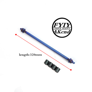 Image 5 - Universal 12*26/28/32mm motorcycle front wheel axle Modified extension multicolor mid axi forBWS SMAX MAJESTY and Electric bikes