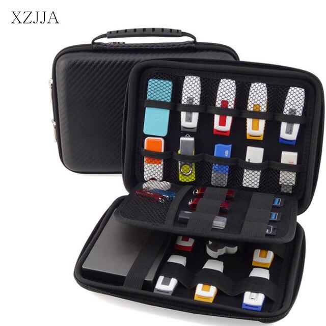 XZJJA Hohe Kapazität Mobile Festplatte Aufbewahrungsboxen Kopfhörer ...