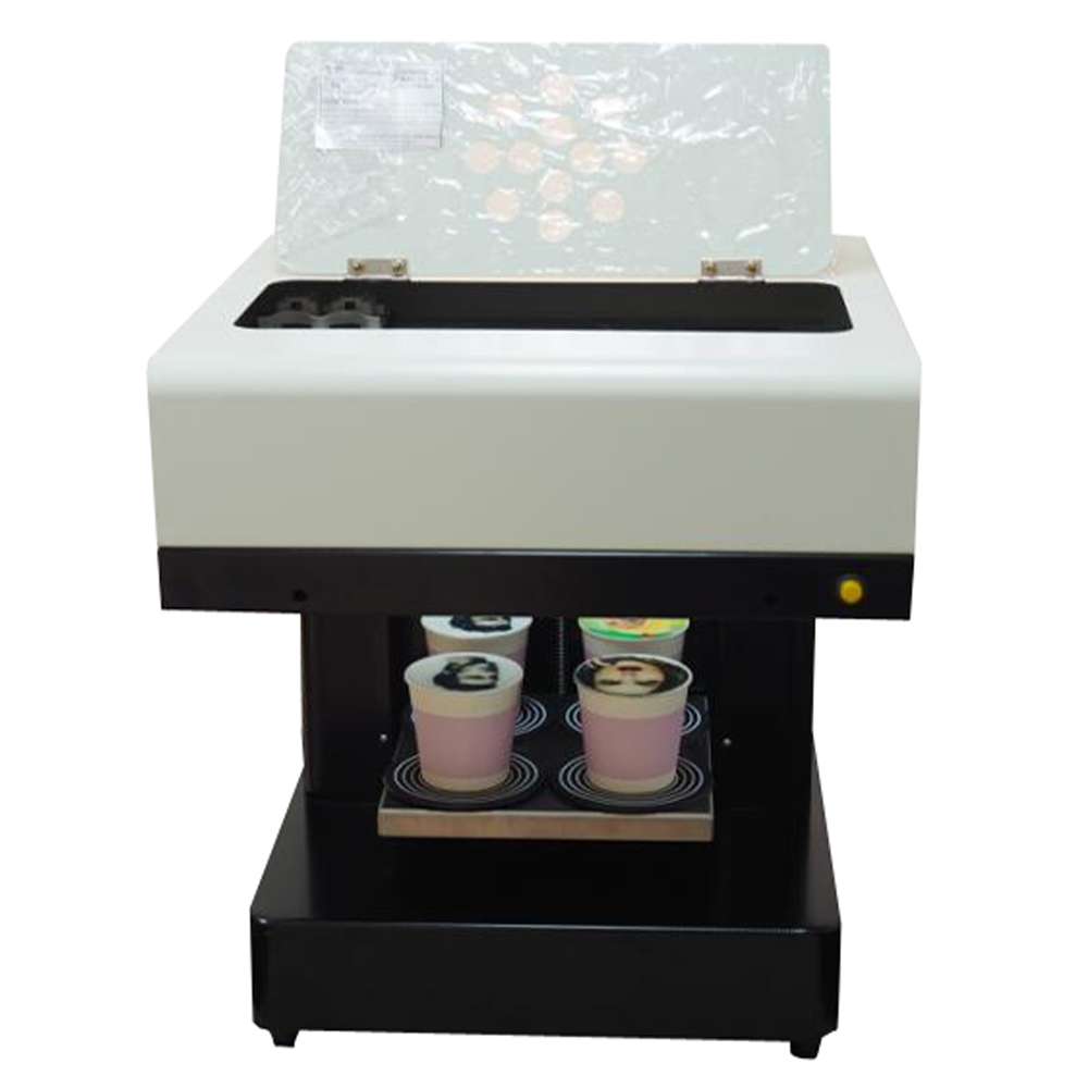 2018 4 cups coffee printer Art Lattee Coffee Cake Pizza Bread printer coffee art
