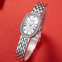 цена на Fashion Ladies Watch Women 2019 New Rose Gold Dress Quartz Watches Luxury Diamond Wristwatches Relogio Feminino Bracelet Clock