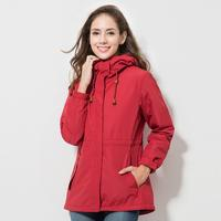 Winter Jacket Women Outdoor Warm Windbreaker Waterproof Coat Female Camping Hiking Winter Down Jacket Women's Clothing