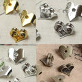100pcs/lot Earring Back Settings Plugging Blocked Rubber Back Heart Earrings Cap for Stud Earrings Jewelry Accessories