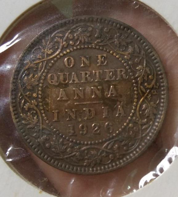 Us 55 Britischen Indien George V 14 Anna Münze Commonwealth Land Sammlung Welt 100 Echte Und Ursprüngliche Verwendet Münzen Alt In Britischen