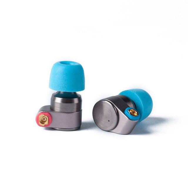 2017 étain Audio T2 dans l'oreille écouteur Double dynamique lecteur HIFI basse écouteur DJ métal 3.5mm écouteur casque avec MMCX