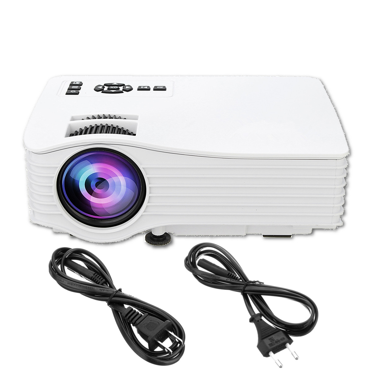 Mini Android Wifi Smart Video LED Projector Proyector For Home Theater Full HD 1080P|  - title=