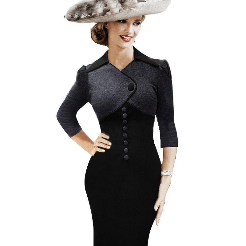 Dress 50s Style 1950s Vintage Rockabilly 60s Clothing Retro ...