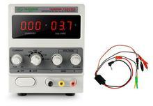 Yaogong Fuente de alimentación, dispositivo 1502DD con pantalla LED de corriente ajustable para reparación de teléfonos móviles, CA y CC, 15V, 2A