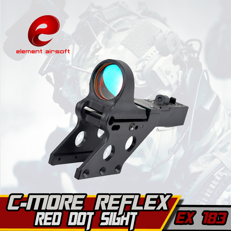 Element Softair Tactical SeeMore Reflex Sight For C-More Style Serendipity Mount Hunting IPSC Airsoft Red Dot Arsoft Arma Sight c more style red dot sight railway reflex for ris rail 4 color options free shipping