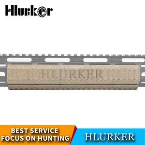 Image 3 - Tático keymod capa handguard ar15 ferroviário mlok livre float AR 15 m lok aperto mão parar arma acessórios de caça rifle