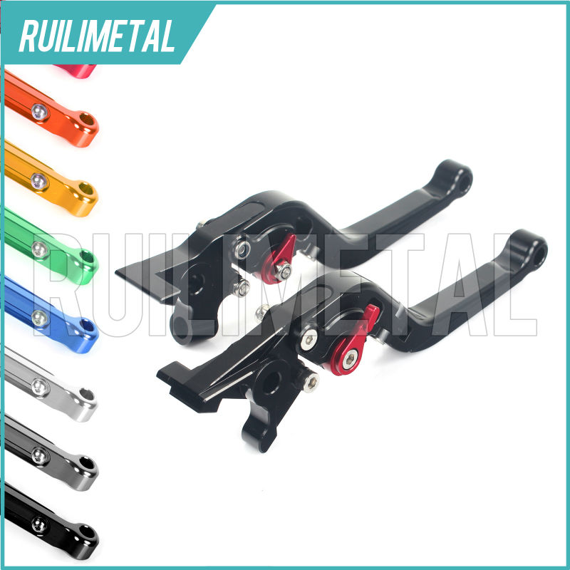 Adjustable Extendable Folding Clutch Brake Levers for MV AGUSTA BRUTALE 750 03 04 05 2003 2004 2005 F4 750 F4-750 99 00 01 02 hot sale fits for mv agusta brutale 675 800 motorcycle accessories adjustable folding extendable brake clutch levers