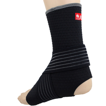 Kuangmi Compression Ankle Sleeve Support Sports Safety Guard Adjustable Wraps Bandage Ankle Brace Basketball Ankle Protector 1PC