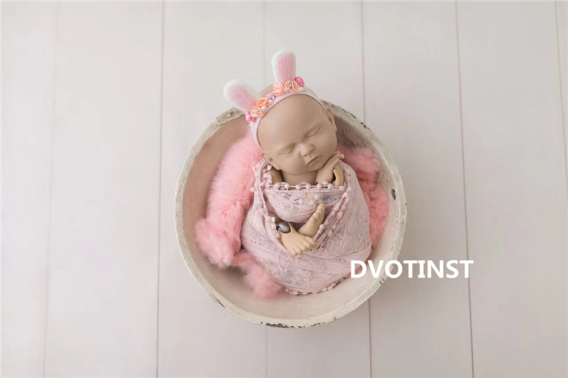 Dvotinst Baby Photography Props Metal Ball Joint Simulation Doll Posing Training Model Fotografia Accessories Studio Photo Prop