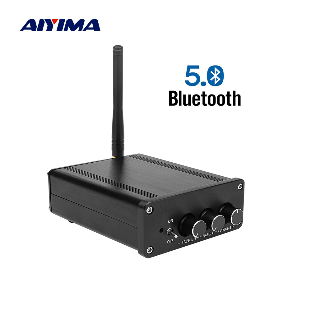 AIYIMA TPA3116 Bluetooth 5 0 Amplifier Stereo Audio Amp 100Wx2 NE5532 PCM5102 HIFI 2 0 Channel