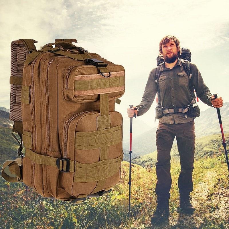 3P militaire armée tactique sac à dos Sports de plein air Trekking voyage sac Camping randonnée Camouflage chasse pêche vélo sac