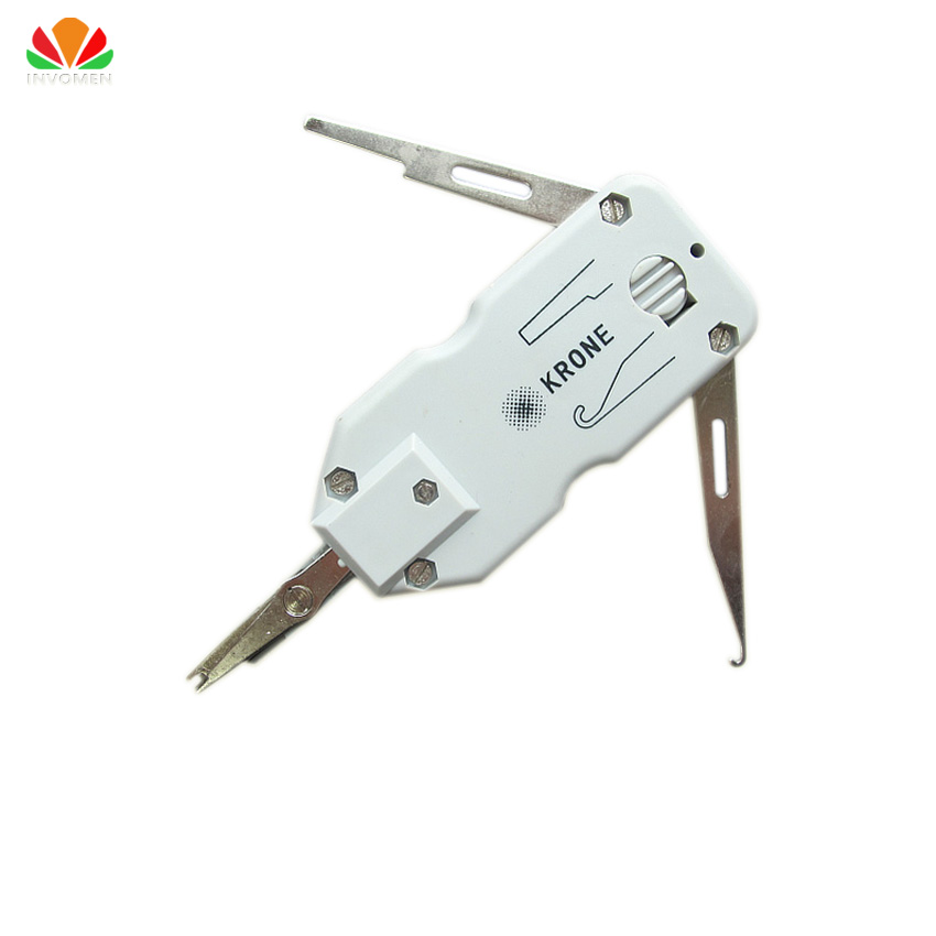 Classic Kort krone wire cutter Nettverkskabel Telefon Telecom tanger Portable tool Snap-In kniv for AMP modul 110 Patch Panel
