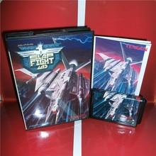 MD tarjeta de juegos-Slap Lucha Japón Cubierta con Caja y Manual para MD MegaDrive Génesis Consola de Videojuegos de 16 bits MD tarjeta