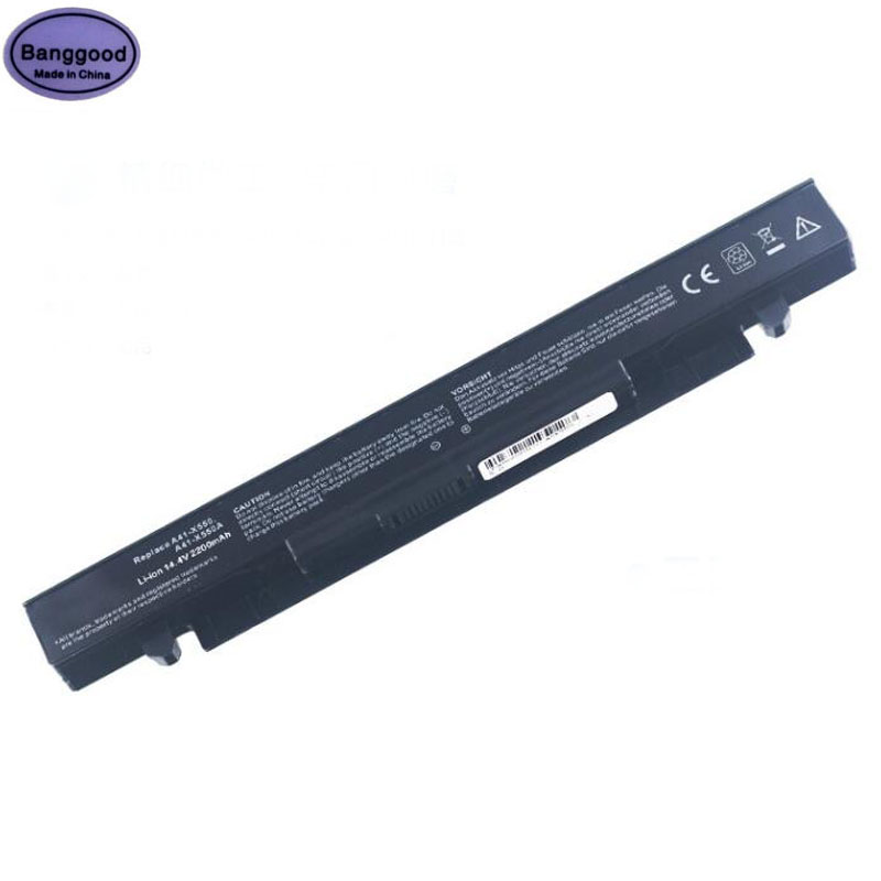 14.4V 2200mAh 4 Cells Laptop Battery Pack for ASUS A41-X550A A450L A450V A550C A550V F450V F550C K550C P450 X450 X550V Y581C14.4V 2200mAh 4 Cells Laptop Battery Pack for ASUS A41-X550A A450L A450V A550C A550V F450V F550C K550C P450 X450 X550V Y581C