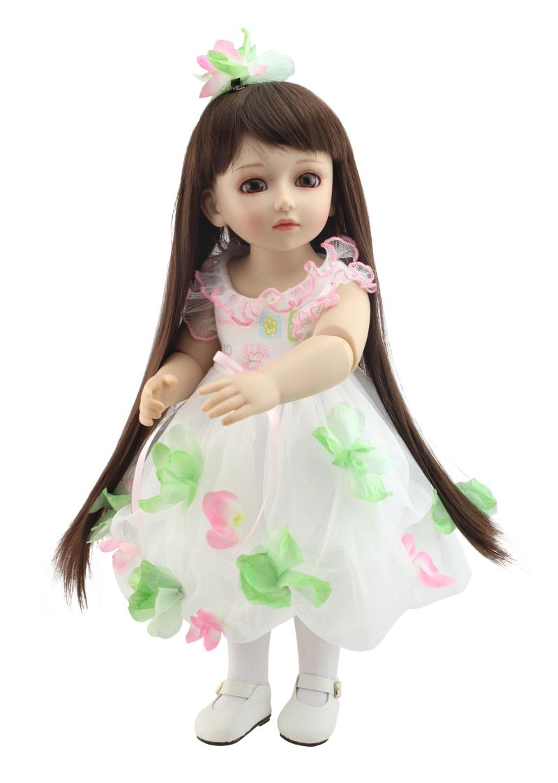 1/4 BJD SD Dolls Model Princess Girl Dolls Big Eyes Flower Fairy Girl High Quality Toys Xmas Gifts Collectible Dolls for Kids delf a2 livre cd