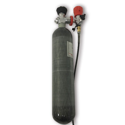 AC102 البسيطة خزان سكوبا 2L مضغوط الهواء بندقية تحت الماء بندقية أسلحة الصيد أسطوانة أكسجين 4500Psi Co2 زجاجة القوات الجوية كوندور