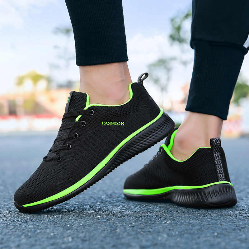 Весенняя Мужская обувь; кроссовки; Повседневная дышащая обувь из сетчатого материала; zapatillas hombre Deportiva Sapato Masculino Adulto; большие размеры; Мужская обувь; 2019