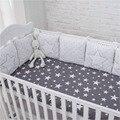 Neue Ankunft Hohe Qualität Flexible Kombination Star Bett Stoßstange Komfortable Schützen das Baby Einfach zu Bedienen Baby Stoßfänger In Der krippe