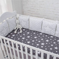 New Arrival High Quality Flexible Combination Star Bed Bumper Comfortable Protect the Baby Easy to Use Baby Bumpers In The Crib