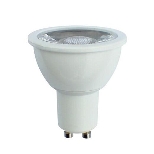 Vairumtirdzniecība 100PCS / Lot, 5W LED GU10 COB Spotlight, 5W COB Spotlight, LED COB Spot Lamp Fedex / DHL Bezmaksas piegāde