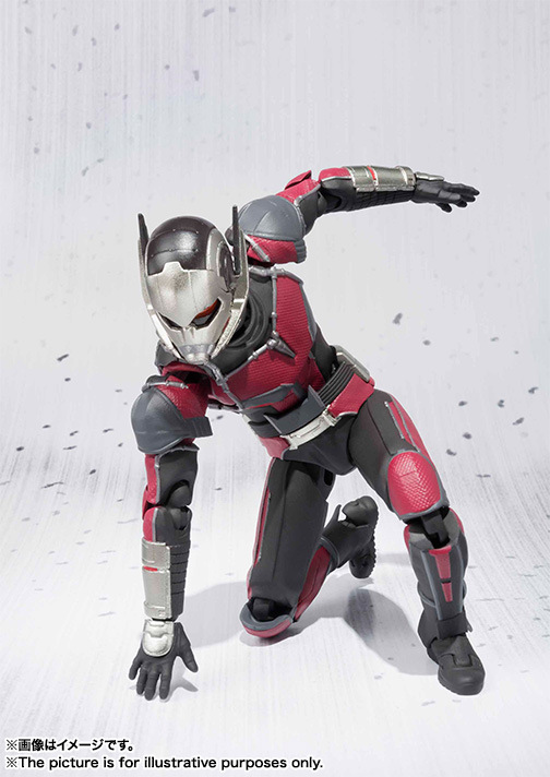 Marvel SHFiguarts Captain America Civil War Black Panther / Ant Man PVC Action Figure Collectible Model Toy avengers captain america 3 civil war black panther 1 2 resin bust model panther statue panther half length photo or portrait