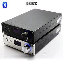 FX D802C Bluetooth de Audio Puro Amplificador Digital USB/AUX/Óptico/Coaxial de Audio Mini Amplificador 80Wx2 24Bit/192 KHz DC32V/5A