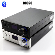 FX-Ses D802C Bluetooth Saf Dijital Amplifikatör USB/AUX/Optik/Koaksiyel Mini Ses Amplifikatör 80Wx2 24Bit/192 KHz DC32V/5A Güç