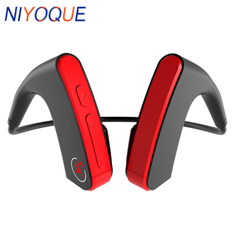 Beseneur Bluetooth Headphones E1 Bone Conduction Wireless Headset Auriculare Outdoor Sports CVC Bass 3D Stereo Ear Hook Earphone