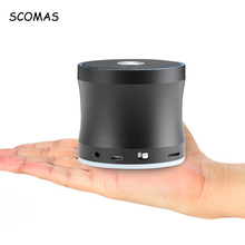SCOMAS Mini Speaker Portable Bluetooth AUX Wireless Outdoor Loudspeakers Support TF MP3 Music Player