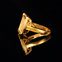Rings Fashion 2014 New 18K Gold Plated AAA Cubic Zircon Stone Jewelry For Women Or Men