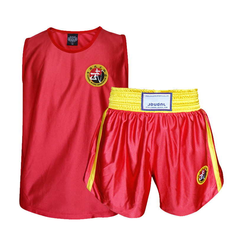 Sports & Entertainment Jduanl Kids Adult Mma Boxing Muay Thai T Shirts Tank Tops Sleeveless Martial Arts Wushu Grappling Tees Sanda Jersey Clothes Deo High Safety Boxing