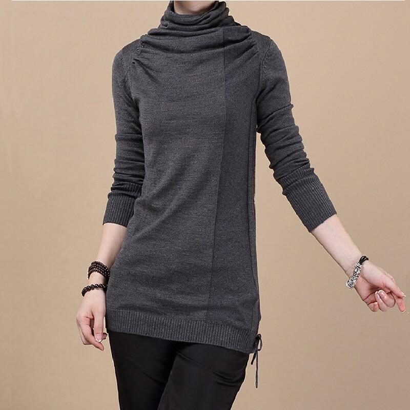 Barato suéteres de lana para mujer 2015 nueva moda otoño