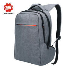 2017 Tigernu Brand Fashion Business Backpack for Men Travel Notebook Backpack Laptop Bag 15.6 Pattern Backpack for women(China (Mainland))