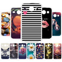 3D DIY Soft Silicone Case For Samsung Galaxy Core I8260 Case Coque For Samsung Core I8260 I8262 GT-I8262 Cover Painted Case Bag цена и фото