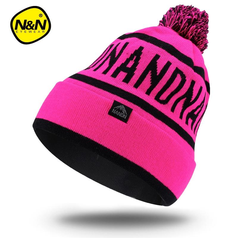 """NANDN rudens žieminės skrybėlės unisex megzti """"Skullies"""" - Sportinė apranga ir aksesuarai - Nuotrauka 3"""