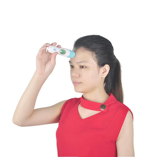 3 unids/lote Multifuncional hijo adulto médica fiebre cuerpo electrónico bebé oído de la frente termómetro infrarrojo digital lcd productos