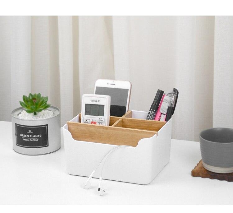 Criativo multi-funcional caixa de armazenamento de mesa